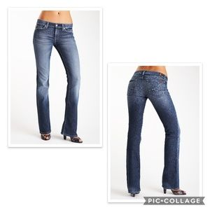 7 FOR ALL MANKIND BOOT CUT LIGHT WASH SZ 29